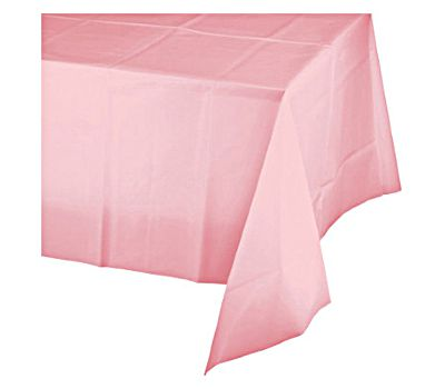 Table cover baby pink