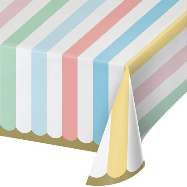 table cover pastel
