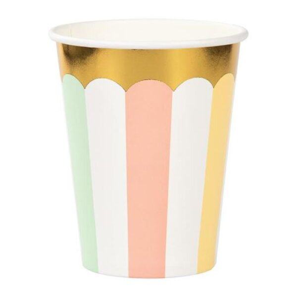 Pastel cups