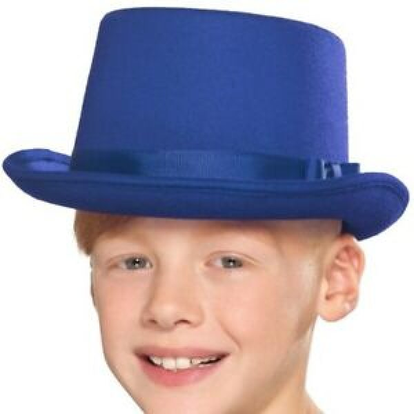 Kids Top Hat Blue