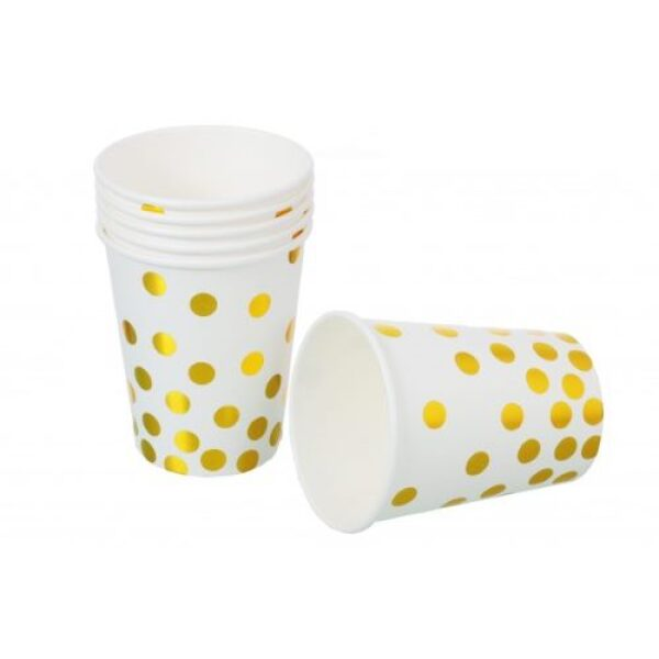 Cups white gold