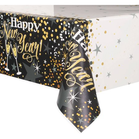 table cover new year