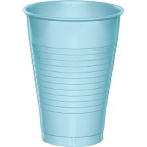 cups baby blue